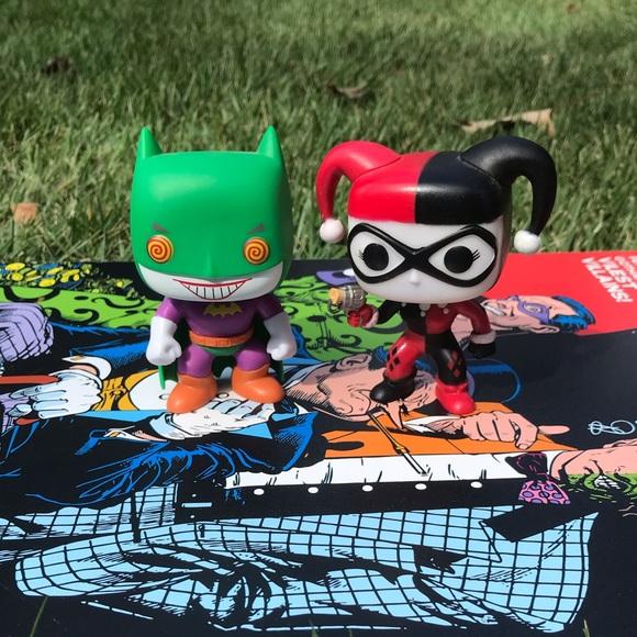 Joker And Harley Funko Pop Set